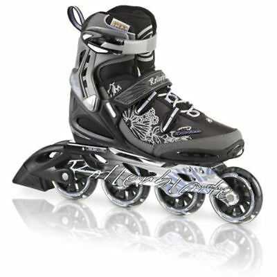 Rollerblade Spark 80 Alu W Black/Purple Womens Inline Skates UK 5.5