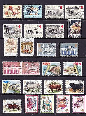 Great Britain stamps - 50 Used