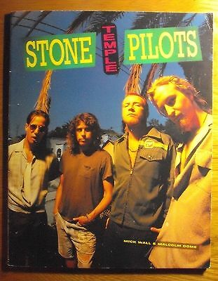 Stone Temple Pilots Book by Mick Wall & Malcolm Dome 1995 Omnibus Press