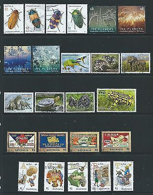 Australia - 5 Sets, 2016 Commemorative Sheets Stamps Used