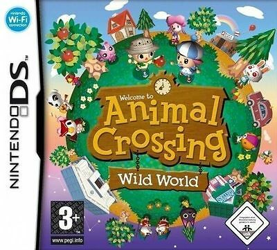 *BOX & MANUAL ONLY* ANIMAL CROSSING WILD WORLD - NINTENDO DS / DSi