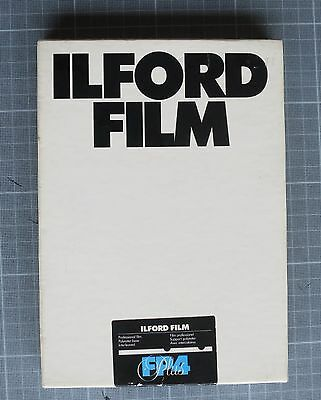 "25 SHEETS ILFORD FP4 PLUS 125 ISO 5x7""  /  13x18cm"