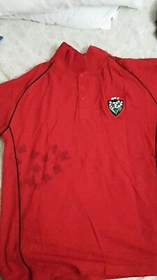 Polo rct toulon rugby toulon rouge