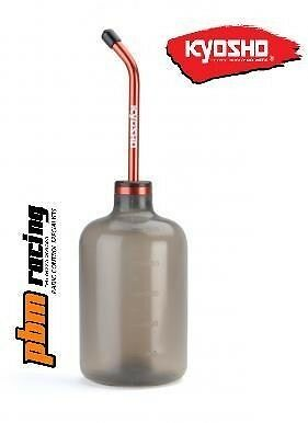 Kyosho Premium 500ml RC Nitro / Glow Fuel Bottle Alloy Spout- 96423