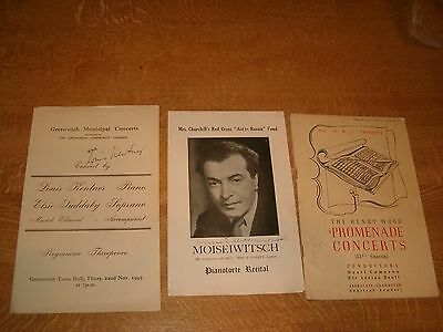 Collection Of Autographs From The Classical World, Benjamin Britten & More