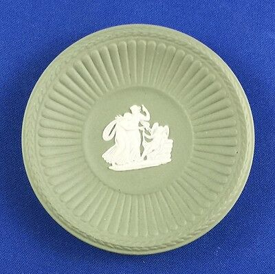 Wedgwood / wedgewood  Small Plate - Green 7.5cm - Boxed