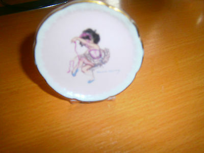 Brownie Downing Free Standing Plaque ,dancing Theme