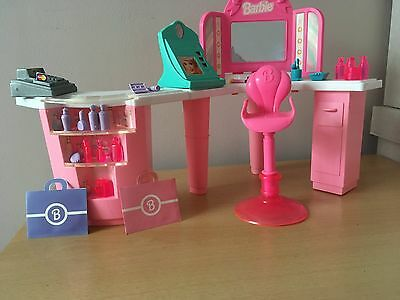 Barbie Cosmetic Counter