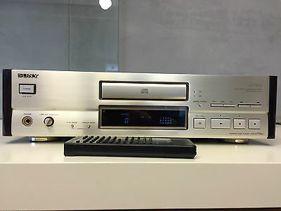 SONY CDP-X779 ES top-end vintage CD player, champagne, excellent condition