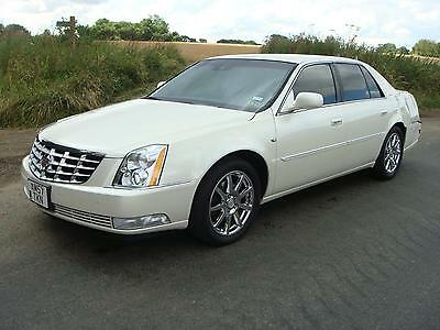 2008 Cadillac Dts Left Hand Drive Lhd Pearl White Automatic Leather Uk Regd