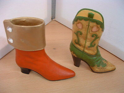 Vintage Collectable Boots X 2 Great Display