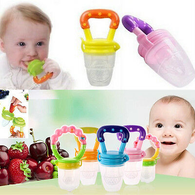 Baby Pacifier Fresh Food Milk Fruit Supplies Safe Nibbler Feeder Feeding Tool