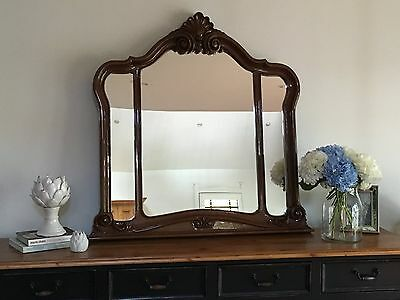 Large Ornate French Provincial/Rococo Mirror