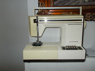 janome sewing machine ( no foot pedal is missing )