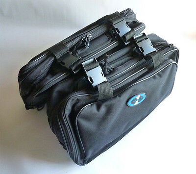 Black Oxford 1st Time sports panniers, 40 litres, OF414, tank bags, saddle bags
