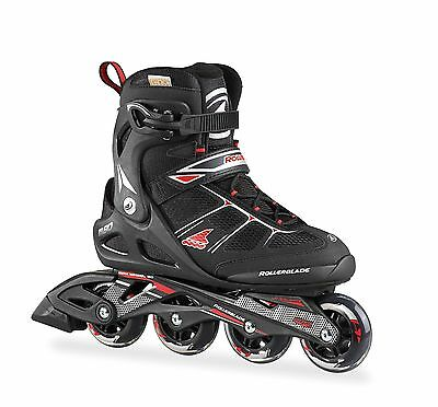Rollerblade 2015 Macroblade 80 Comp Black/Red Mens Inline Skates UK 8.5
