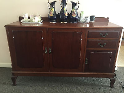 Antique Sideboard Rosewood Mahogany