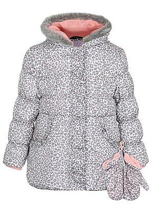 Girls Shower Resistant Padded Coat Age's 1.5-6 Years