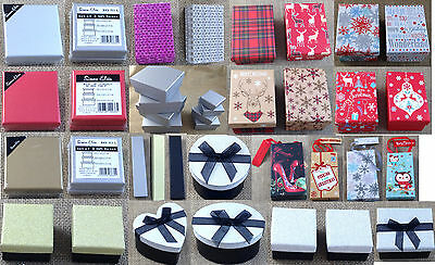 Gift boxes - perfect for birthday or Christmas gifts - for jewellery, pens etc