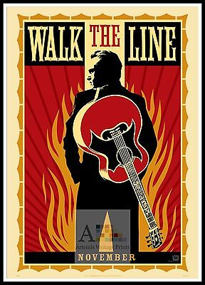 Walk The Line. Year 2005 Movie Posters Classic Films