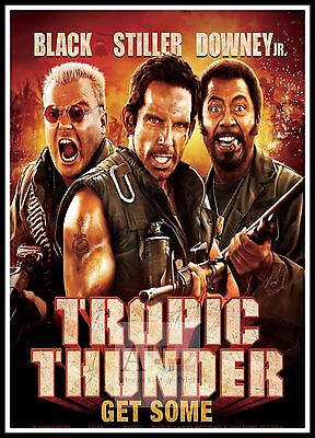 Tropic Thunder   2008 Movie Posters Classic Films