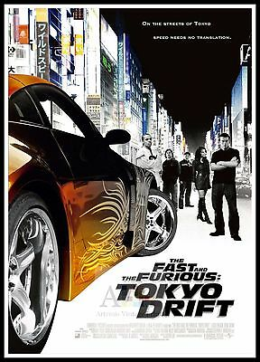 The Fast And The Furious Tokyo Drift  2006 Movie Posters Classic Films