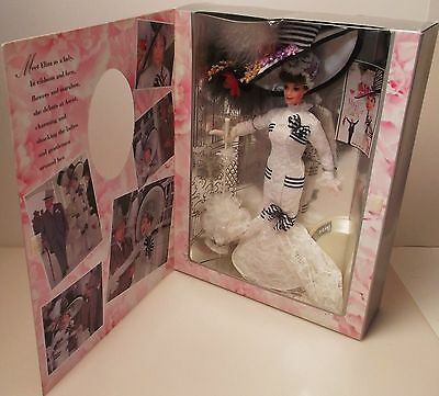 1995 Mattel Barbie As Eliza Doolittle At Ascot My Fair Lady Hollywood Legends