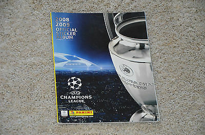 Album Sticker PANINI CHAMPIONS LEAGUE 2008 2009 - incomplet