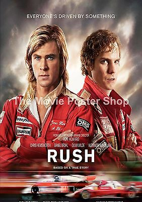 Rush  2013 Movie Posters Classic Films
