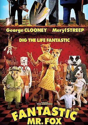 Fantastic Mr Fox.  2009 Movie Posters Classic And Vintage Films