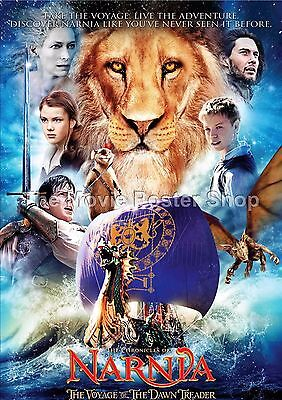 The Chronicles Of Narnia The Voyage Of The Dawn Treader. 2010 Movie Posters