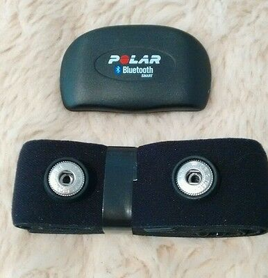 Polar H7 Bluetooth heart rate monitor sensor & belt. iOs & Android compatible