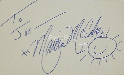 Marcia McCabe Signed Autograph