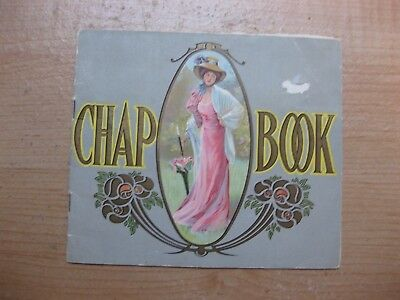 A Chap Book International Tailoring Co NY Fashion 1908