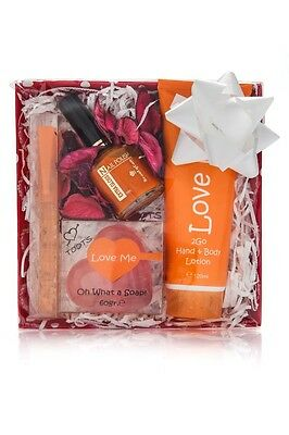 gift set TOOTS LOVE ME 4 parts Beautiful holiday gift set