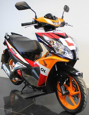 2013 13 Honda Nsc 50 R Repsol Moped/scooter Learner Legal/project/trade Sale 49