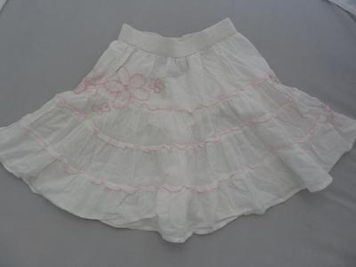 Adorable PUMPKIN PATCH White Skirt 2-3yrs COTTON Summer NEXT HOLIDAY