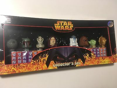 NEW Star Wars PEZ Collector's Box Set 2005 Limited Edition #52,785 of 250,000