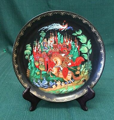 Tianex Russian Legends Collector Plate - Ruslan and Ludmilla
