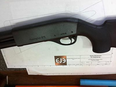 REMINGTON 870 Express Inert Replica Plan Build Model Modelling