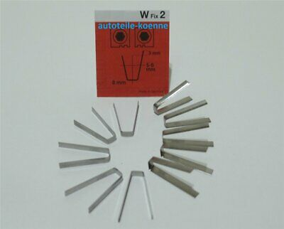10x Profilschneidemesser 5-6mm W Fix 2 Rubber Cut Rillfit Rillcut Messer