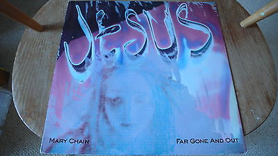 Jesus And Mary Chain Far Gone And Out Vinyl 12""