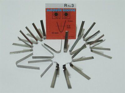 20x Profilschneidemesser 6-8mm R Fix 3 Rubber Cut Rillfit Rillcut Messer
