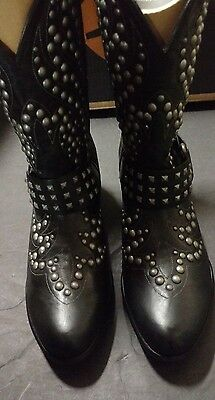 New Ladies Ariat Western Cowboy Boots Size 9 1/2 B