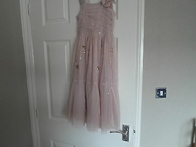 Girls Pink Next Signature Party Dress Age 6-7 yrs