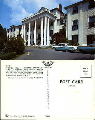Pritchell Hall Ridgecrest Baptist Assembly North Carolina NC cars 1950s