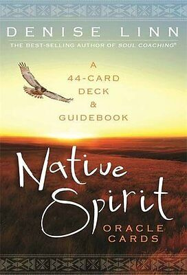 Native Spirit Oracle Cards: A 44-Card Deck and Guidebook Cards