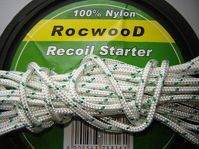 2 MTR X 4mm PULL CORD ROPE IDEAL FOR MOUNTFIELD PETROL LAWN MOWERS