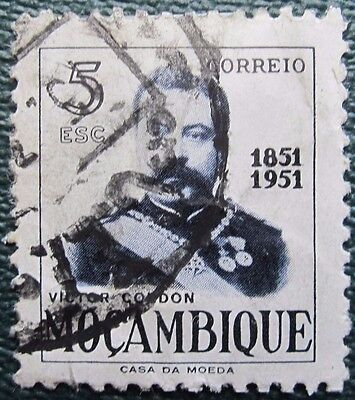 Mozambique Stamp  'victor  Gordon'  Used