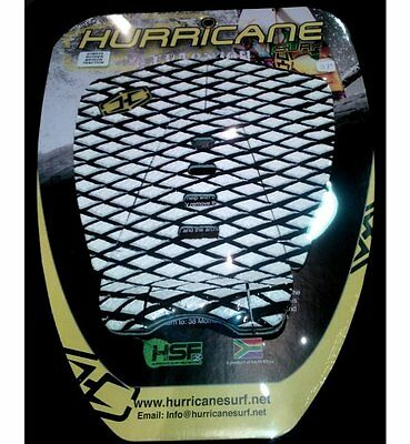 Pad Hurricane Surf Rodney Bryson Traction 3 Pieces Grip White Black